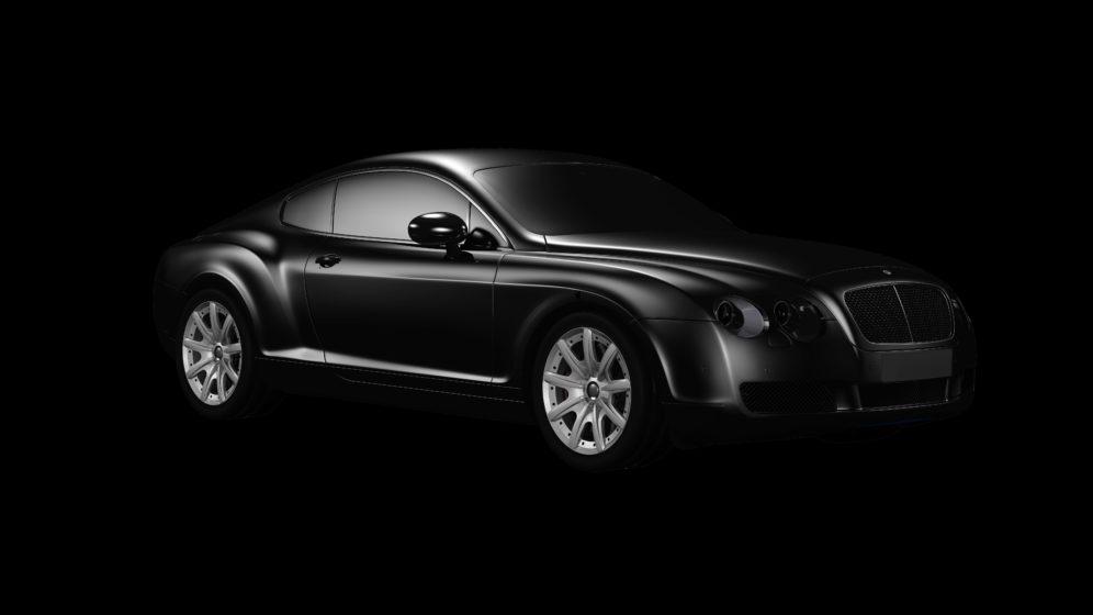 long black limousine