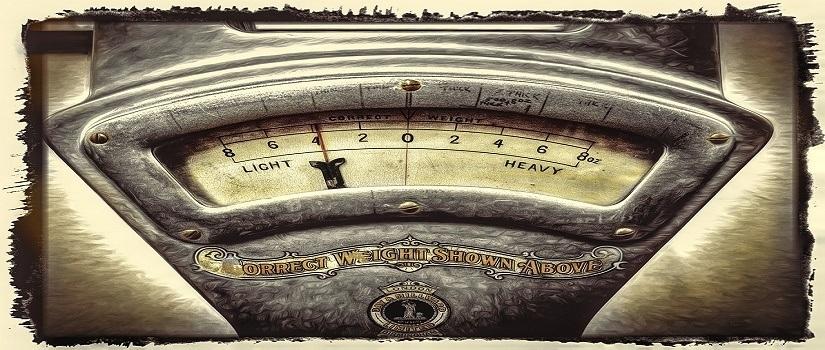 A weighty matter